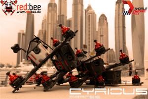 Ideal für Anfänger so wie auch Profis, Der Cyrious X1 ist diese Saison unsere Nr.1 bei Redbee Racing