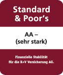 S & P Rating R+V Versicherung