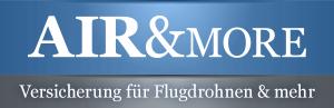 Drohnen Versicherung: Airandmore Logo medium