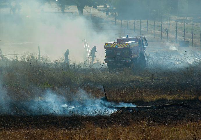 Wärmebild Drohne Feuerwehr Einsatz