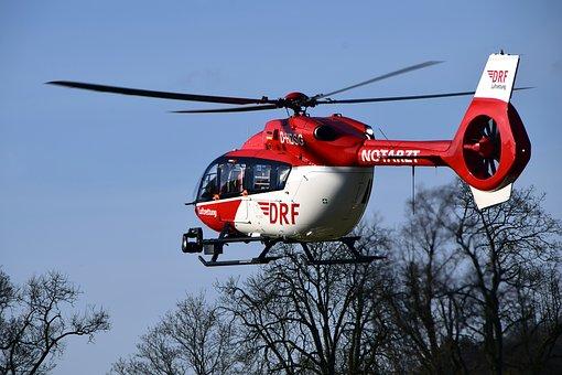 DRF Luftrettung Drohnen Kollision Versicherung