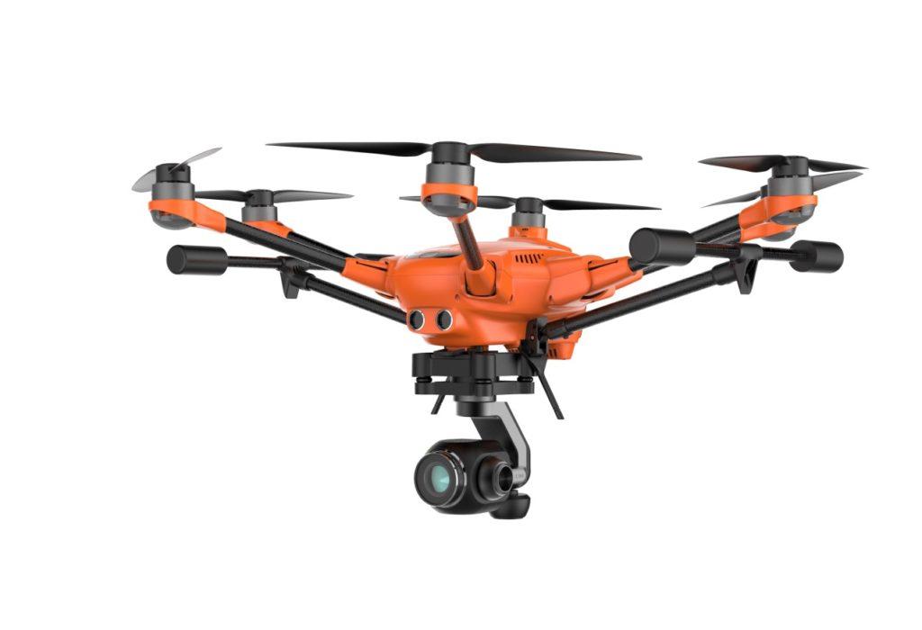 Yunnec H520 Feuerwehrdrohne, Drohnen Versicherung Österreich