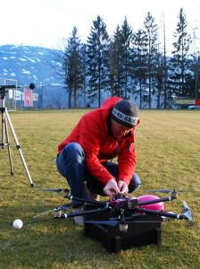 Neuner twins Einsatz Drohnen Feuerwehr Versicherung Oesterreich