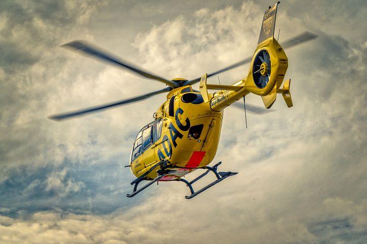 Luftfahrt Unfallversicherung Gleitschirm Hubschrauber Bergung