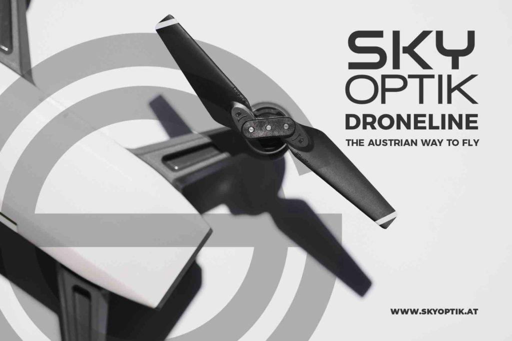 Skyoptik Droneline Mini Drohnen Vermietung Österreich
