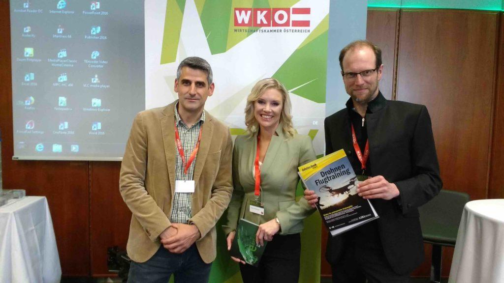 Wirtschaftskammer Drohnen WKO Airandmore Team Katrin Prähauser