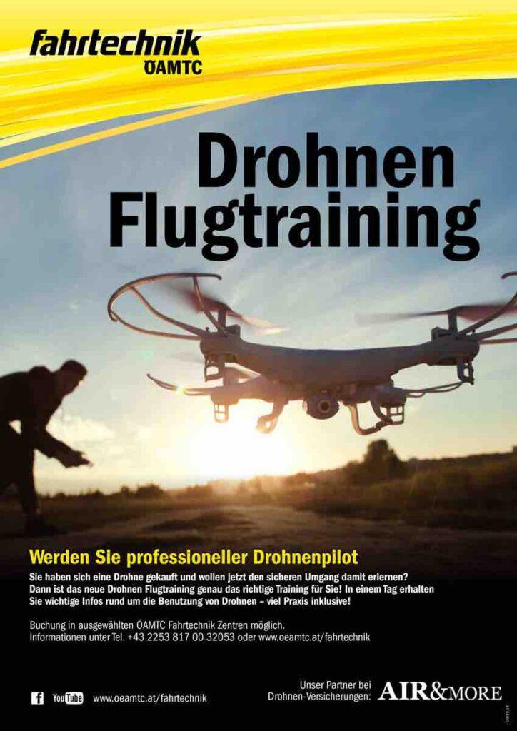 Drohnen Sicherheitspaket OEAMTC