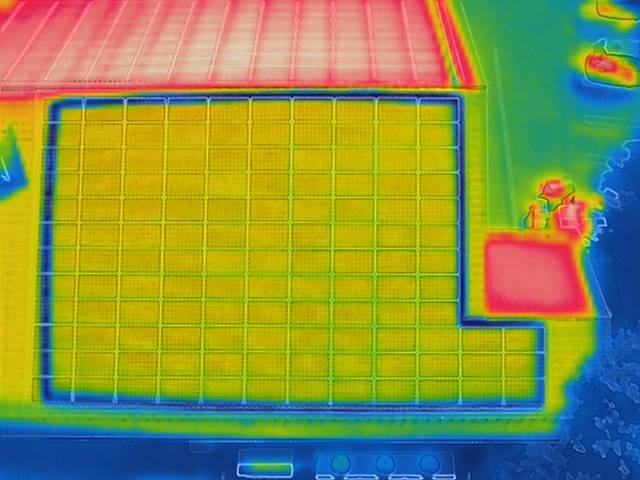 Drohnen Solar Inspektion Photovoltaik Infrarot Thermographie
