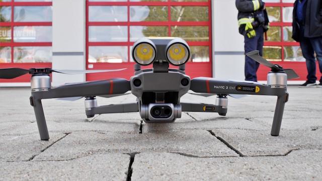 M2ED Lieferumfang DJI Mavic Enterprise Dual Test Feuerwehr