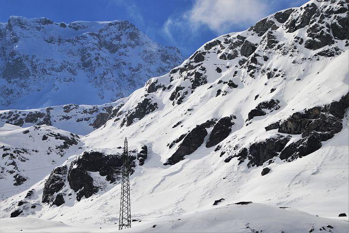 Drohnen Netz Inspektionen Berg