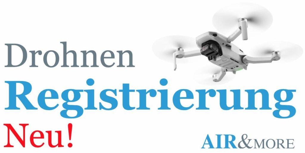 Drohnen Registrierung