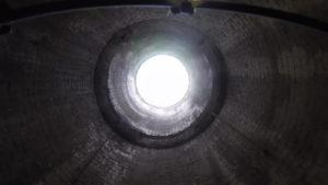 Drohnen Inspektion Kamin Industrie