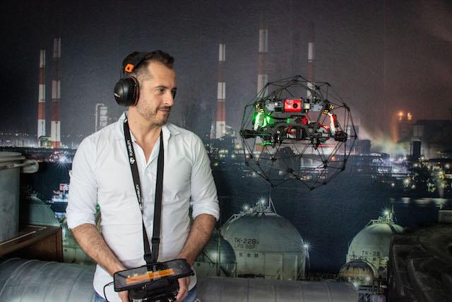 Markus Rockenschaub Elios 2 Drohne