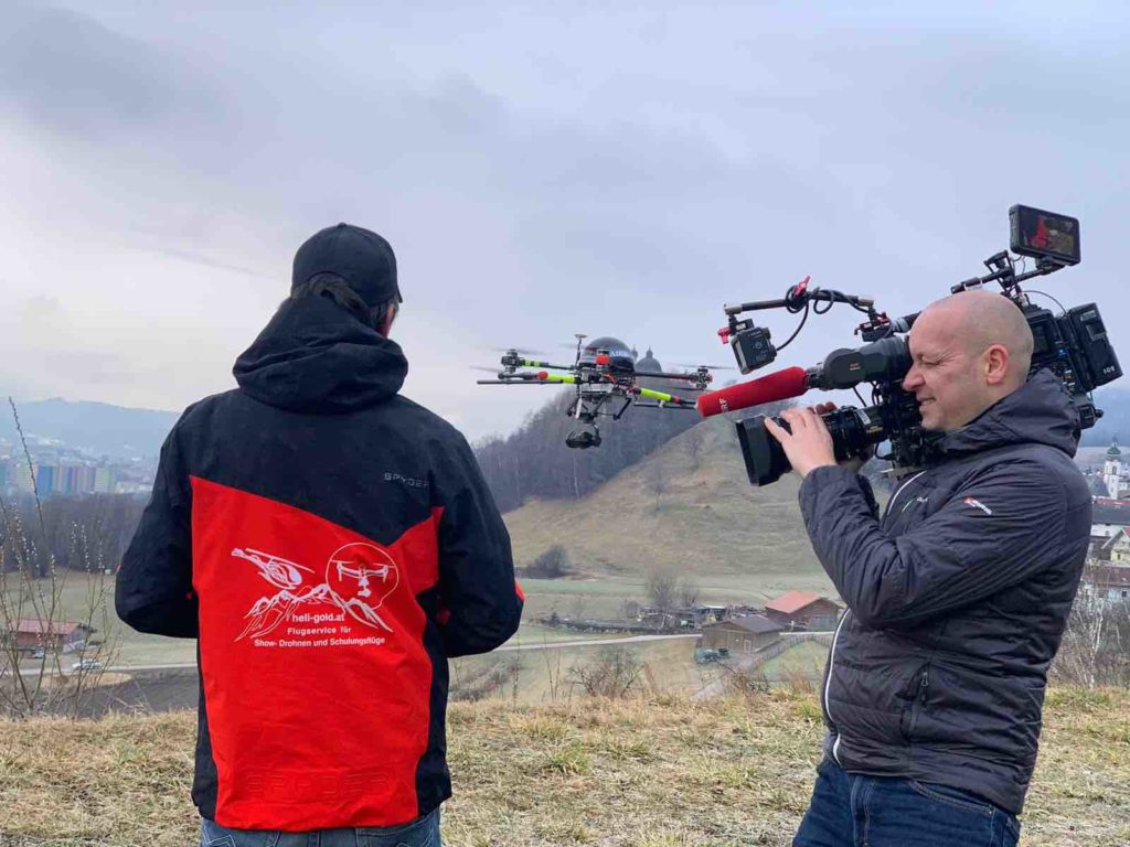Drohnen Petition ORF Heli Gold