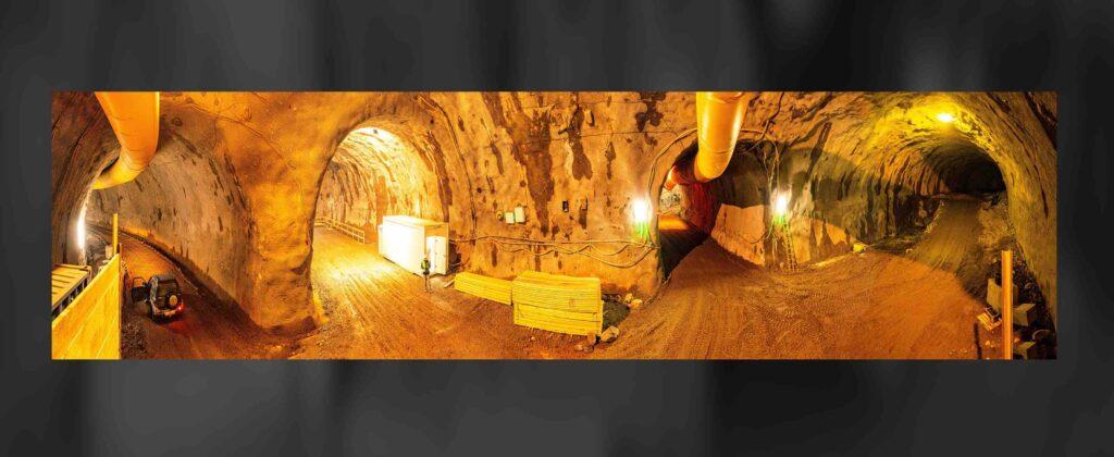 Drohnen Tunnelbefliegung Dokumentation