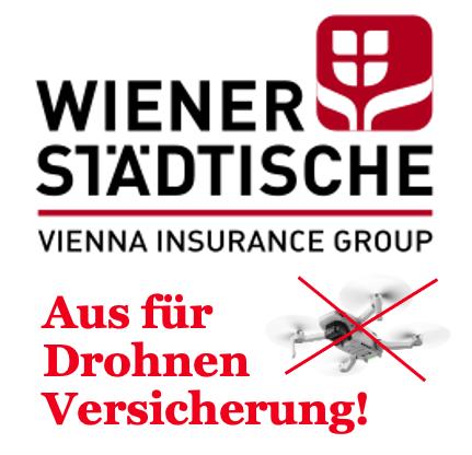 Wiener Städtische Drohnen Versicherung Ende 2021